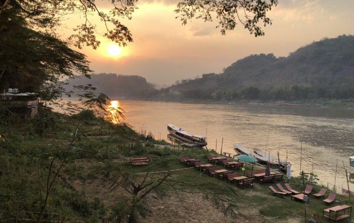 Sunset Luang Prabang Laos